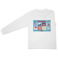 Detox long sleeve T-shirt〈White〉