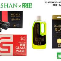スパシャン グラスウェア 9H & ボブ & マイクロベロア & カーシャン