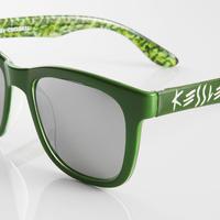 KESSLER EYEWEAR サングラス No.24 COCL GREEN UV・偏光レンズ ケスラー SPASHAN スパシャン