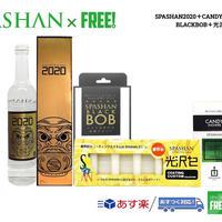 公式ステッカー  SPASHAN スパシャン2020 & キャンディシャワー & ブラックボブ & 光沢+2 SET スパシャン ガラスコーティング カーシャンプー