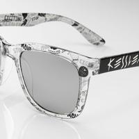 KESSLER EYEWEAR サングラス No.6 CLPT BLACK UV・偏光レンズ ケスラー SPASHAN スパシャン