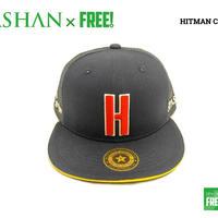 SPASHAN × HITMAN CAP ネイビー スパシャン × ヒットマンキャップのコラボ帽子
