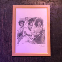 Queen drawing by Jimmy Mashiko