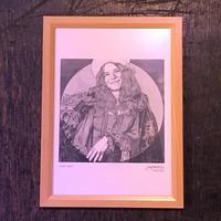 Janis Joplin  drawing by Jimmy Mashiko