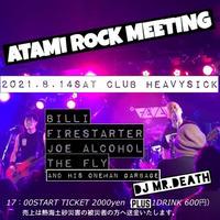 【入場TICKET】2021/8/14(土)ATAMI  ROCK MEETING