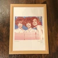 The Supremes drawing by Jimmy Mashiko