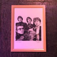 The Velvet Underground drawing by Jimmy Mashiko