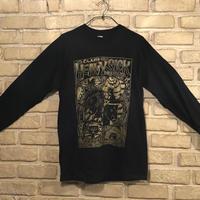◆2021 CLUB HEAVY SICK 前面プリント長袖Tシャツ by YASSUTAKA [ブラック] Mサイズ◆