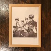 The Beatles drawing by Jimmy Mashiko