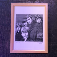 The Rolling Stones drawing by Jimmy Mashiko