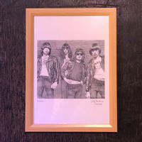Ramones drawing by Jimmy Mashiko
