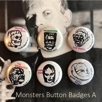 缶バッチ Classick 6 Monsters Pins【A-set】