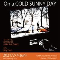 【入場TICKET】2021/2/7(SUN) On a COLD SUNNY DAY