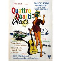 【入場TICKET】2021/3/14(sun) Quattro Quarti Blues