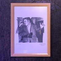 Elvis Presley drawing by Jimmy Mashiko
