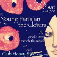 【入場TICKET】2021/7/3(sat)Young Parisian/the Clovers