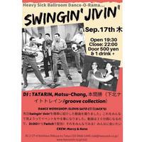 9/17(thurs)【 Swingin' Jivin' 】投げ銭3000