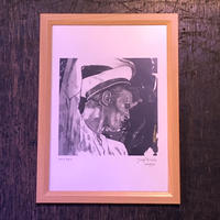 David Bowie (A)  drawing by Jimmy Mashiko