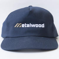 Matalwood Forged Unstructured 5panel Snapback hat-NAVY