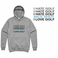 GOLF GODS - I HATE GOLF HOODIE