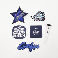 CLUBHAUS Sticker Pack