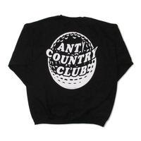 ANTI COUNTRY CLUB Sweat Shirt-Black