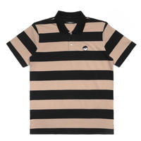 Malbon Striped COD Shirt Tan/Black
