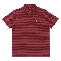 Malbon Golf GREBE Polo Pinot/Pumice
