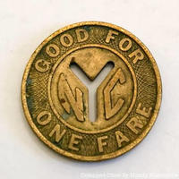 New York City Subway Token