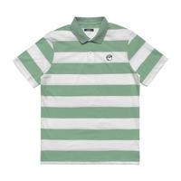 Malbon Striped Cod Shirt - Sage/White