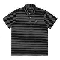 Malbon Golf GREBE Polo Black/White