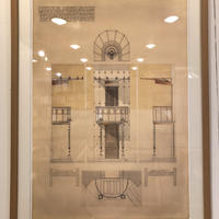 Otto wagner Drawing Portfolio No.49(額装品)