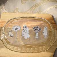 beet tatoo  jewelry set