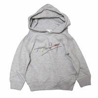 SCRIBBLE color-hoodie 【KID'S】