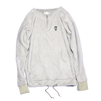bearboa pullover (halfzip)