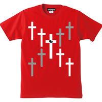 宙也 55 T-Shirt Designed by zoestyles (Red)