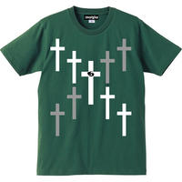 宙也 55 T-Shirt Designed by zoestyles (Green)