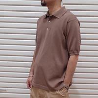 A VONTADE / Paper Knit Polo S/S
