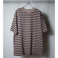 """LAMOND ラモンド """" PERU COTTON BORDER T-Shirt"""" ボーダーTシャツ"""