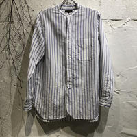 A VONTADE / Banded Collar Shirts -C/L Chambray-