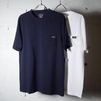 "L.L.Bean エルエルビーン""Carefree Unshrinkable Tee, Short-Sleeve with Pocket Katahdin Logo"""