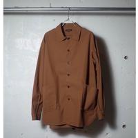 A VONTADE / Gardener Shirt Jacket -40/2 Hard Twist Yarn Oxford-