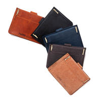 hobo  / OILED COW LEATHER DOUBLE SNAP WALLET