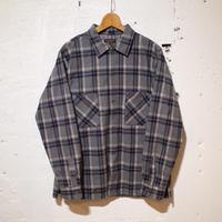 A VONTADE / Crazy Check Open Shirts L/S