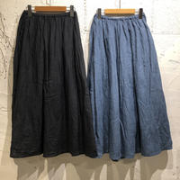 ORDINARY FITS / TRAVEL SKIRT linen