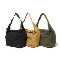 hobo / NYLON TUSSAH ROLL TOP BAG