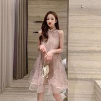 【韓国ファッション ワンピース】ナチュラルサマーワンピースT0005