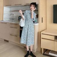 【韓国ファッション ワンピース】リトルフラワーワンピースT0003