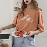 フロントプリントTシャツHEK0002