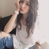 【在庫セール】ロゴスリットTシャツ BEM0001
